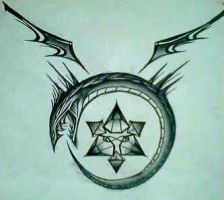 Ouroboros Tattoo Design by SilverSpectrum23