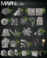 Mayan Vector Icon Pack by kampollo