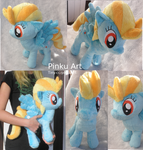 Lightning Dust plush views by PinkuArt