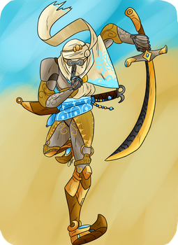 Nomad Genji by ziggy-starchild