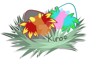 Plumago Eggs by Kuro-Creations