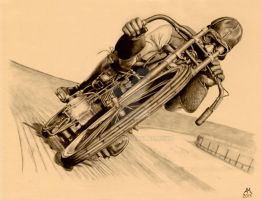 Board Track Racer by Annezon
