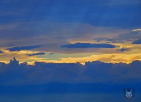 Layers Of Clouds Within Layers by wolfwings1