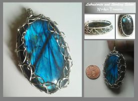 Magical Labradorite in Sterling Silver by Nimily