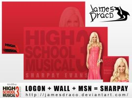 HSM3: Sharpay Evans by JamesDraco