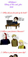 Wolfsister's ASoIaF Meme 1 by Yvyne
