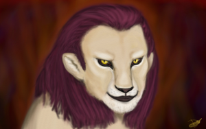 Manticore portrait by Domisea