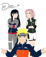 Naruto - NFL Problems by EX388