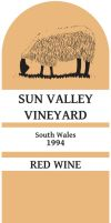 Sun Valley Wine Label by thedeadzoner