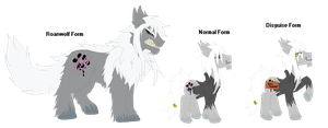 Eponia - Valdus and his Roanwolf form by TheFallingpiano