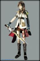 Lightning -Dissidia- by Val8