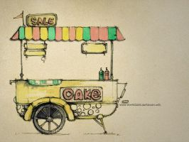 Trolley cake by Sithzam