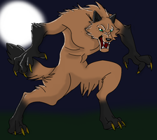 Werewolf Contest Entry by DiloTheSeaDragon120