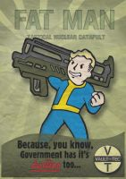 Fallout - Fat Man Poster by Panzerion