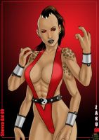 Sheeva pin up by zakuman