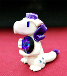 Rarity polymer clay dragon by HowManyDragons