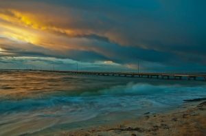 Stormy Sunet 2 by djzontheball