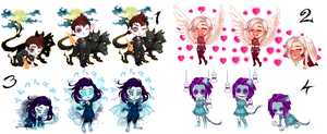 NYP Recolor.Me  Adopts #3 {CLOSED} by faeryhond