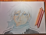 Coloured Pencil Practice by w0lfix