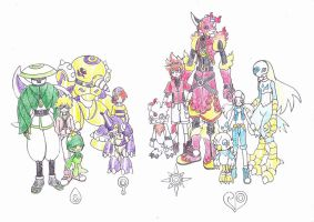 my digimon new adventure by kuyak