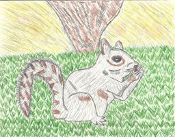 Mr. Squirrel by LindArtz