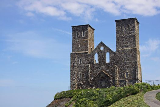 Reculver abbey by UdoChristmann