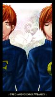 .: The Weasley Twins :. by daeds