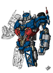 Movie Ultra Magnus by Wegons