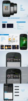 all in one widget android app by aglash