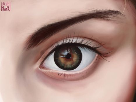 Eye practice #3 by Blue-F-Phoenix