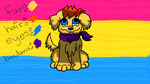 Me As A Puppy Reff by CaitlinTheLucario