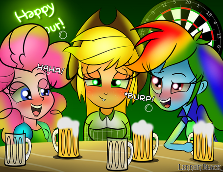 Happy Hour! by LennonBlack