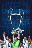 Real Madrid Champions 2014 by riikardo