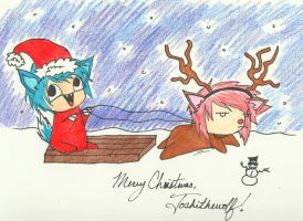 Christmas Request 4 - Toshithewolf by techn0vert