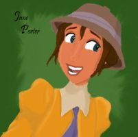 Jane Porter by aryafire