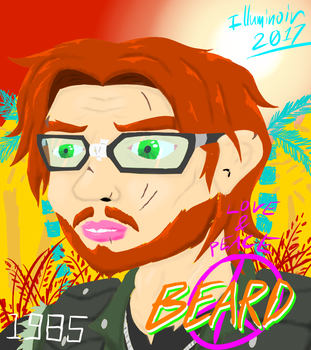 1985 Beard by IllumiNoir