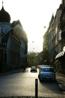 In the streets of Malmo by Heurchon