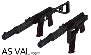 AS VAL - Rigged by ProgammerNetwork