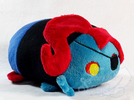 Undyne Tsum by FeatherStitched
