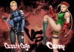 Street Fighter Vs Mortal Kombat by Julie-Ju