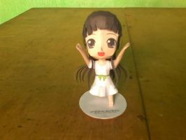 Chibi Yui Paper Model by MarcGo26