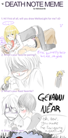 Kiwi's Death Note Meme by x3Dorkfullx3