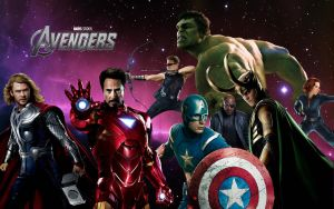 The Avengers Wallpaper by DevanTheNoob