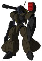 SMS/G-02K3 Mirzam (Fire Support Type) by unoservix