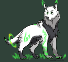 Cheap Wolf Auction -CLOSED by NeonkaiAdopts