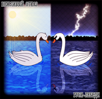 Geese and Swans by Nubmuh151