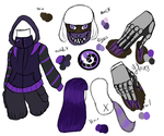 Chessa Purfelis RWBY Revision Reference by Grump-Support
