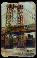 metrocard: williamsburg bridge by jeff-faerber