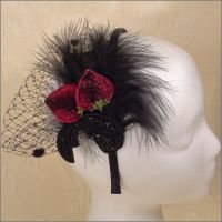 mannequin headband model10 by tracyholcomb