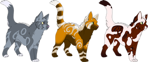 3 Designs by SpottedAdopts